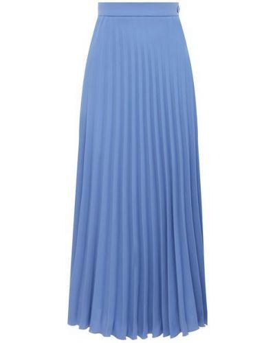 Плиссированная юбка - синяя Mm6