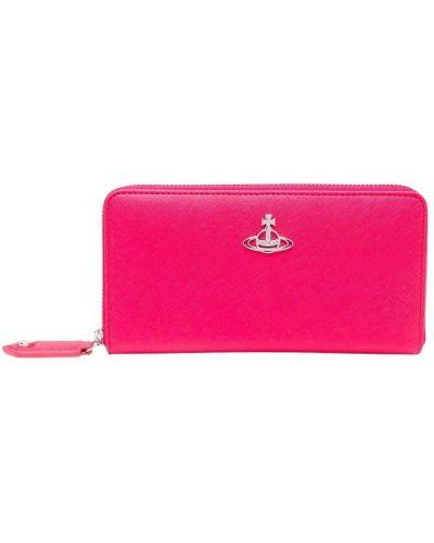 Różowy portfel Vivienne Westwood