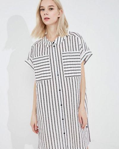 Белое платье Karl Lagerfeld