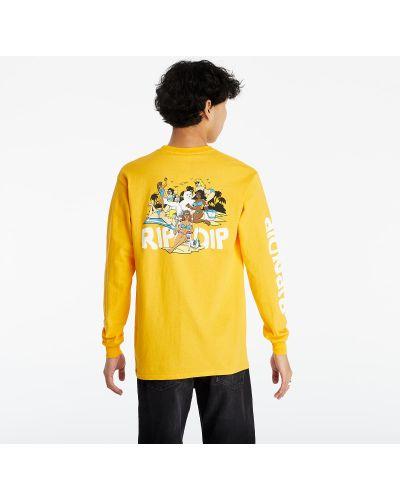 Желтый лонгслив Ripndip
