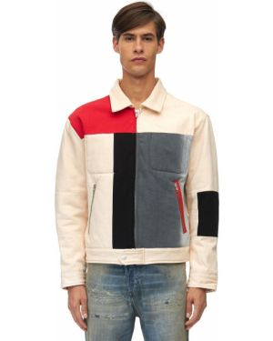 Biała kurtka bawełniana do pracy Gr Uniforma X Diesel Red Tag