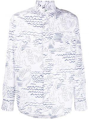 Koszula z długim rękawem klasyczna długa Kenzo