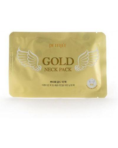 Кожаная маска для ног от морщин из золота золотая Petitfee