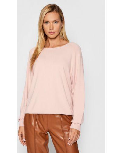 Różowy sweter Kontatto