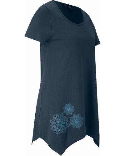 Синяя спортивная футболка Bonprix