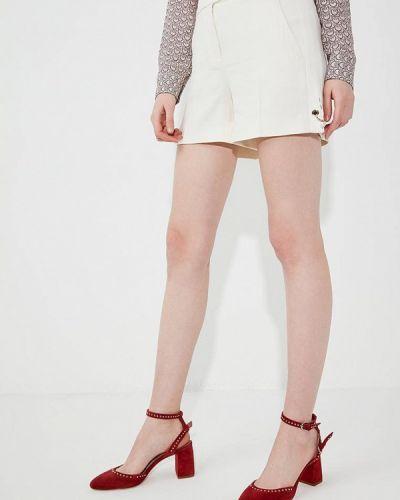 Бежевая юбка шорты Liu Jo