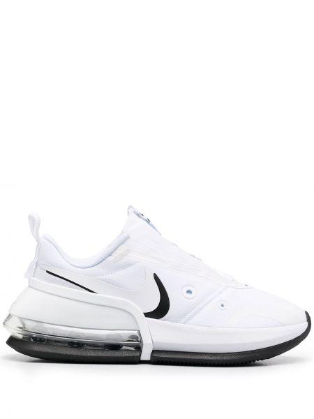 Biały ażurowy top zasznurować okrągły Nike