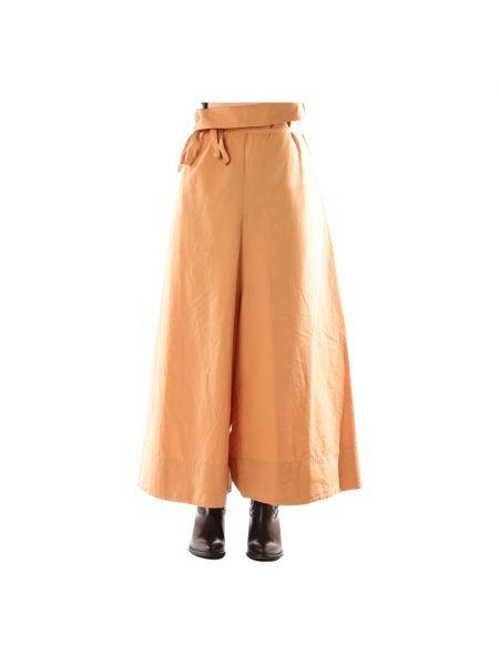 Beżowe spodnie Alessia Santi