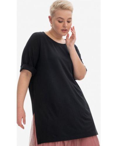 Черная футболка с короткими рукавами Lessismore
