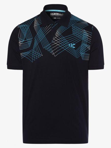 Niebieski t-shirt Ocean Cup