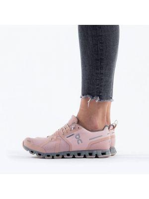 Водонепроницаемые розовые кроссовки беговые для бега On Running
