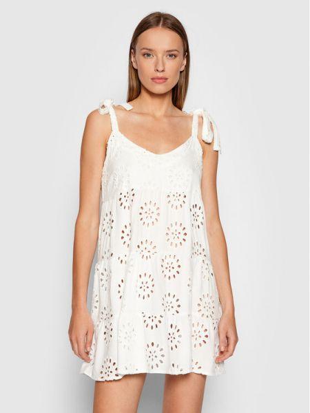 Biała sukienka plażowa Maaji