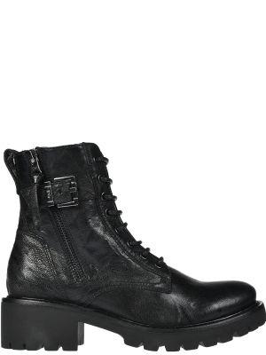 Кожаные ботинки - черные Nero Giardini