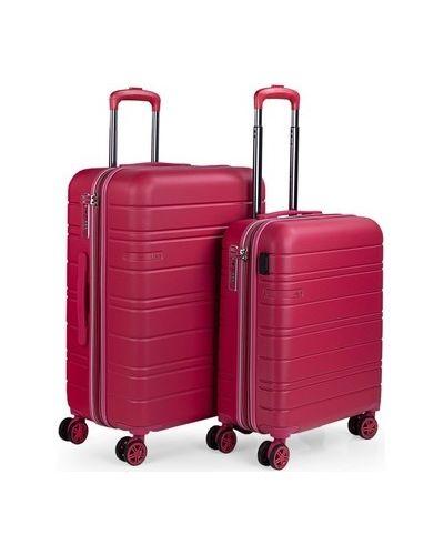 Różowa walizka Jaslen