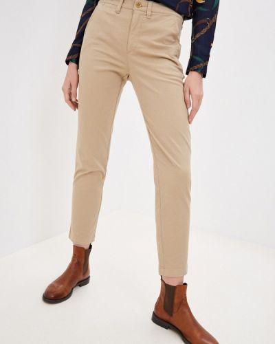 Повседневные бежевые брюки Lauren Ralph Lauren
