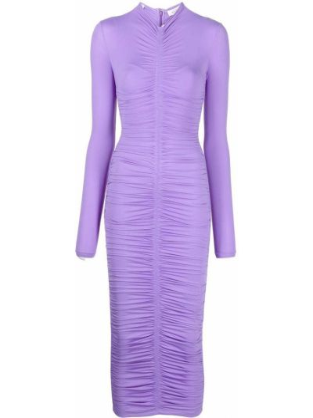 Платье макси длинное - фиолетовое Alc