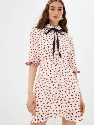 Бежевое платье рубашка Sister Jane