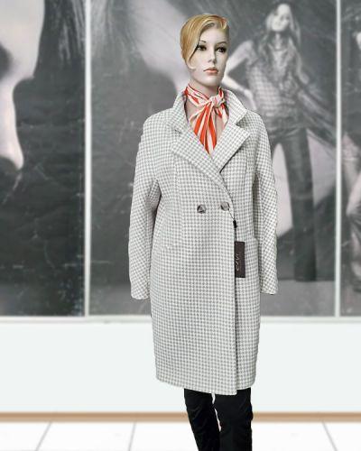 Шерстяное пальто - бежевое Elvi
