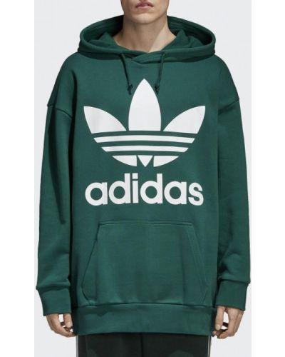Зеленое худи Adidas Originals