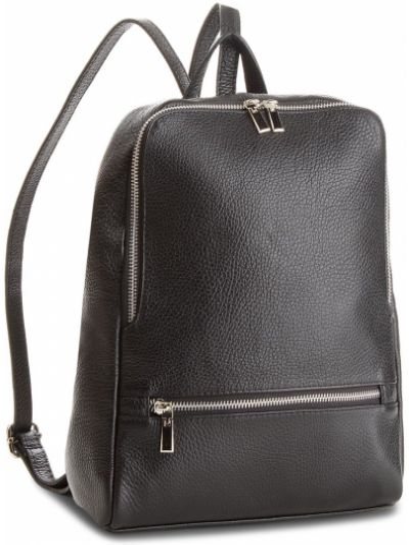 Skórzany plecak czarny Creole