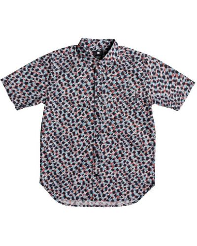 Синяя рубашка с коротким рукавом Dc Shoes