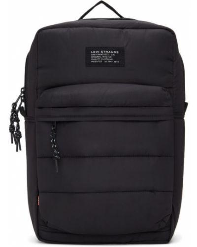Стеганый черный рюкзак для ноутбука из канваса Levi's®