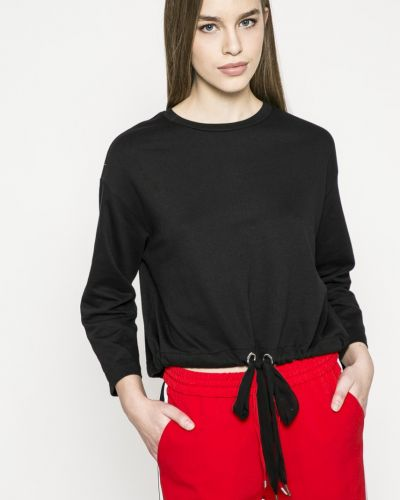 Черная кофта с капюшоном Jacqueline De Yong