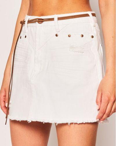 Spódnica jeansowa - biała One Teaspoon