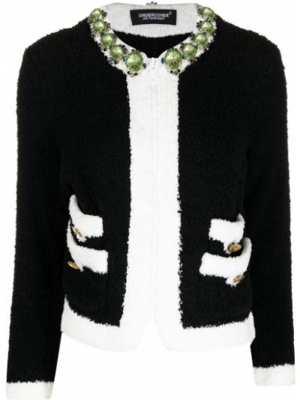 Прямой черный удлиненный пиджак на молнии Undercover