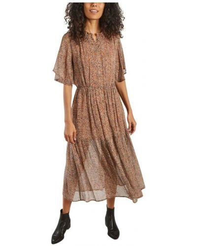 Brązowa sukienka Sessun