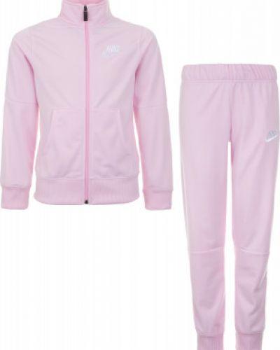 Спортивный костюм розовый прямой Nike