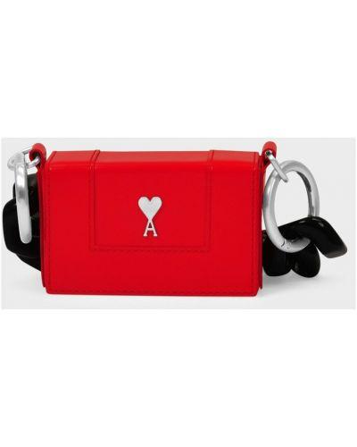 Czerwony łańcuszek Ami Paris