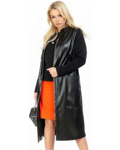 Кашемировое пальто - черное Fashions