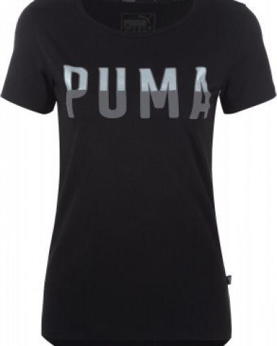 Спортивная футболка прямая хлопковая Puma