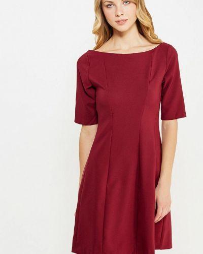 Вечернее платье бордовый красный Aurora Firenze