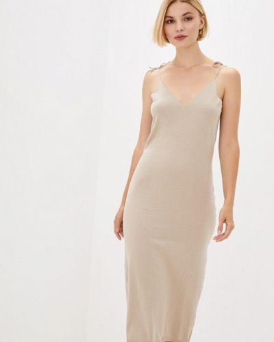 Платье - бежевое Nataclub
