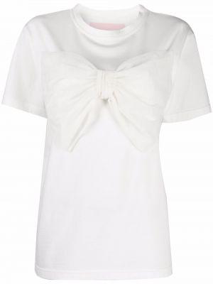 Biała koszulka krótki rękaw Viktor & Rolf