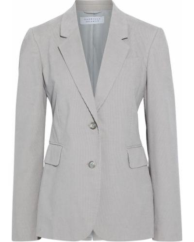 Пиджак вельветовый с карманами на пуговицах Gabriela Hearst