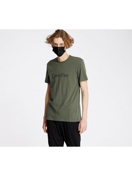 Koszula zielona khaki Calvin Klein