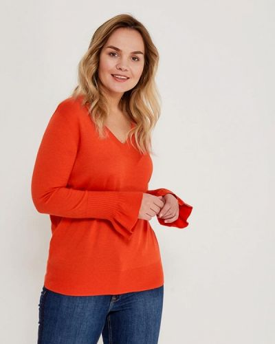 Красный пуловер Violeta By Mango