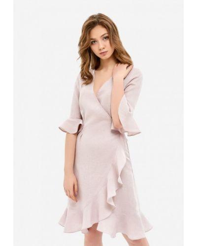 Розовый домашний халат Morandi