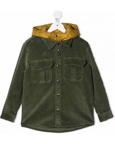 Koszula z kapturem - zielona Il Gufo