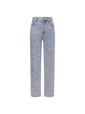 Хлопковые джинсы - голубые Denim X Alexander Wang