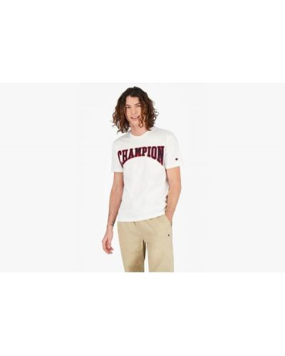 T-shirt bawełniana - biała Champion