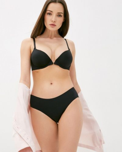 Черный бюстгальтер пуш ап с пуш-ап Calvin Klein Underwear