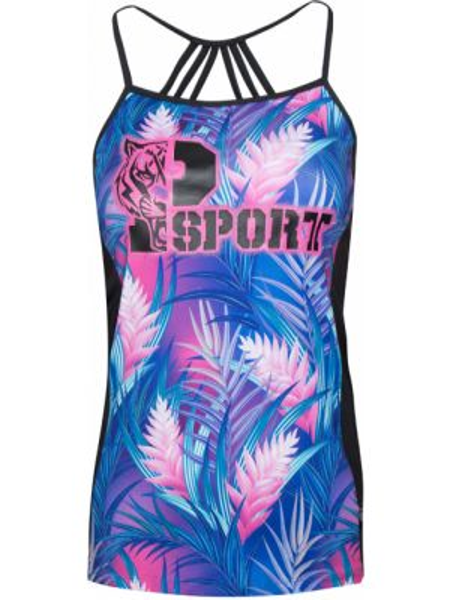 Спортивная футболка - фиолетовая Plein Sport