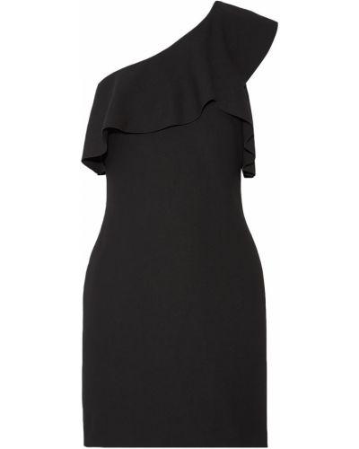 Черное платье мини стрейч из вискозы Elizabeth And James