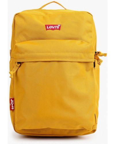 Желтый текстильный рюкзак Levi's®