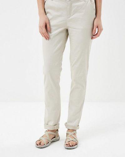 Бежевые брюки Luhta