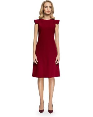 Sukienka mini na co dzień z wiskozy oversize Stylove
